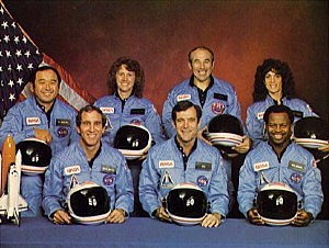 Space Shuttle Challenger Explodes