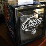 Bud Light Mini-Fridge