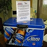 Bud Light Cooler