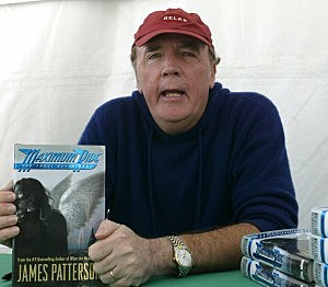 James Patterson at the Los Angeles Times Festival of Books