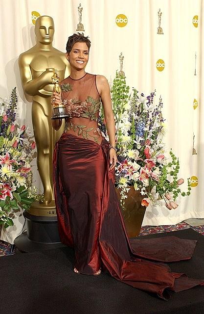 Halle Berry wins an Academy Award