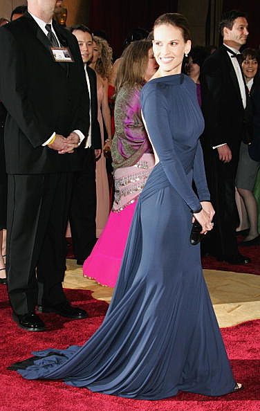 Hillary Swank at the 77th Annual Academy Awards