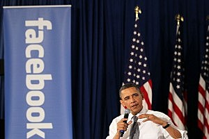 Facebook and Obama