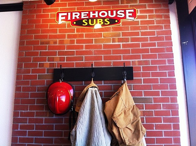 Firehouse Subs firemen's gear