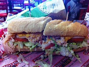 Firehouse Subs Turkey Bacon Ranch Sandwich