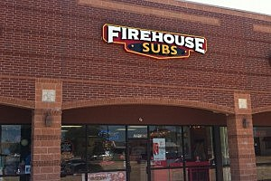 Firehouse Subs outside of restaurant