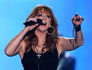 Reba McEntire at the American Country Awards 2010 - Show