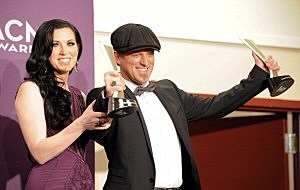 Thompson Square at the 47th annual Academy of Country Music Awards