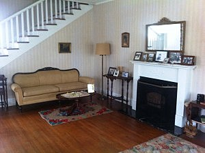 Living room of the James Eldridge and Edith Graham Cassidy house