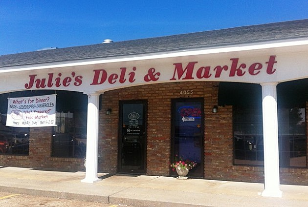 Julie's Deli shop front