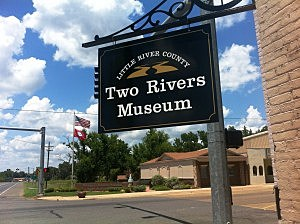 Two Rivers Museum in Ashdown, Arkansas