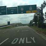 Interstate 30 in Texarkana