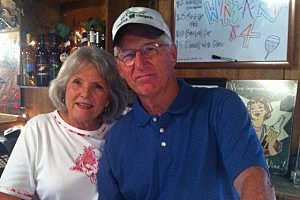 Judy and Benny Moore, owners of O'Farrell Country Vineyards