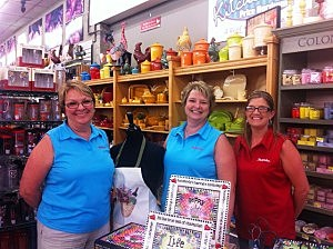 Cindy Price and the Kitchenette staff at Price Hardware
