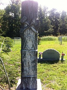 """W.S. Proctor's """"Woodmen of the World"""" tombstone"""