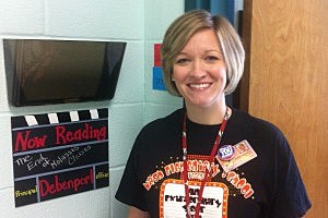 Principal Brandy Debenport is creating a culture of reading at Nash Elementary School.