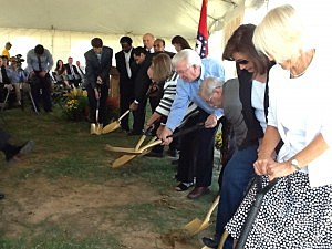 Ground breaking for Holiday Springs Water Park