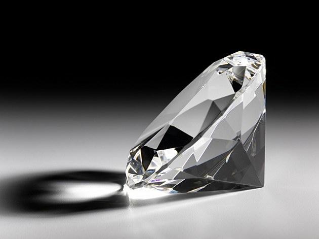 Single large diamond
