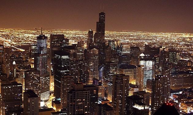 Sears Tower And John Hancock Go Dark In Observance Of Earth Hour