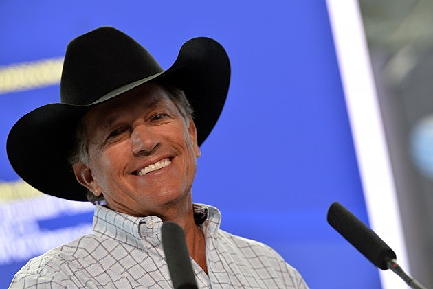 George Straight 2014 The Cowboy Rides Away Tour Press Conference