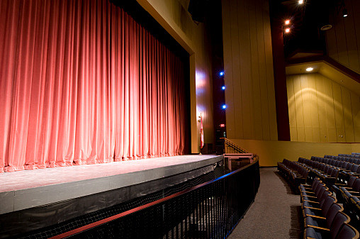 Stage at Auditorium