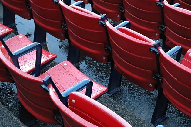 Wet empty seats