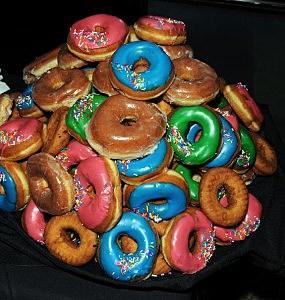 Tray of Doughnuts