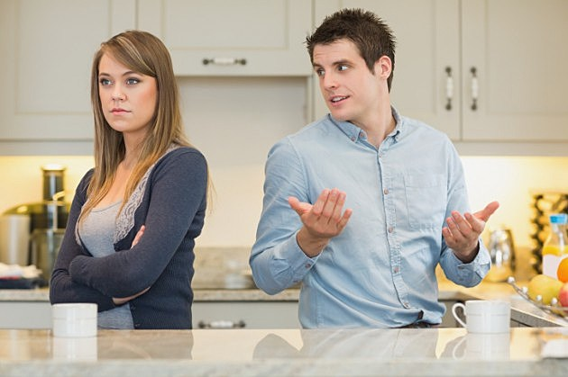 Man Trying To Explain To Angry Wife