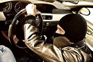 Bandit in mask
