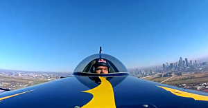 Red Bull Air Races Flying over Dallas - YouTube
