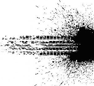 Tire Track - Adobe Illustrator(R) 15.1/ThinkStock