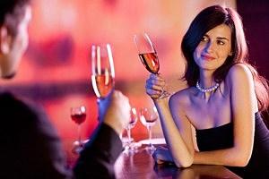 Couple drinking wine - Vitalii Gubin/ThinkStock