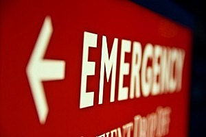 Emergency Room sign - Braden Gunem/ThinkStock