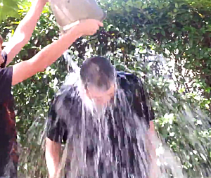 Jim accepted the ALS Ice Bucket Challenge! - YouTube