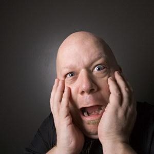 Man making facial expression. - Ron Chapple Stock/ThinkStock