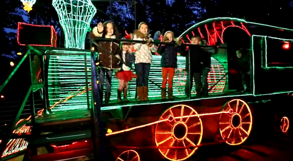 my other favorite place for holiday lights is garvan woodland gardens video - Garvan Gardens Christmas Lights
