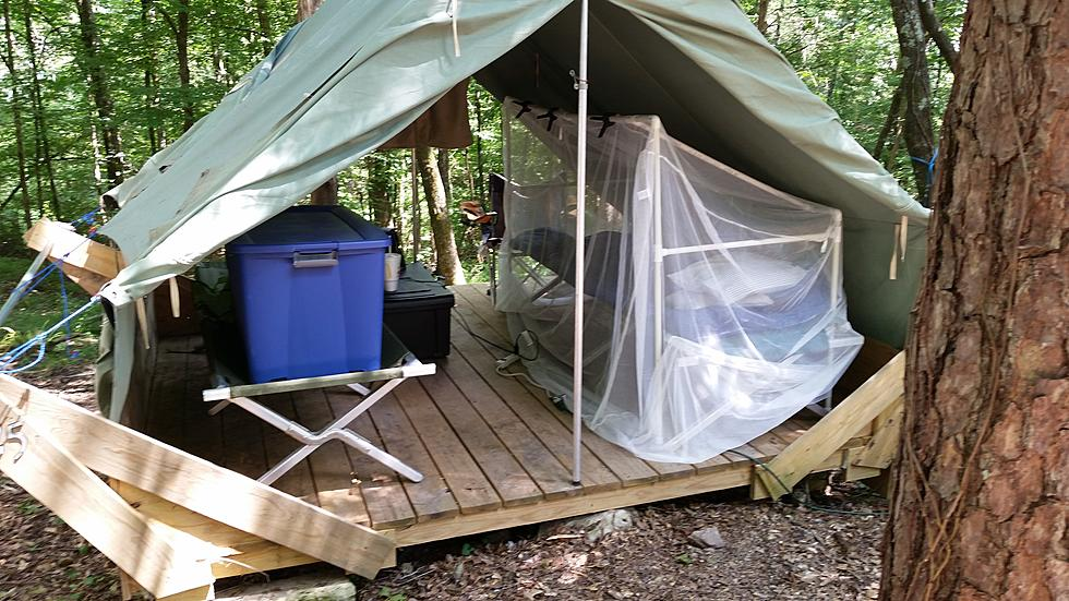UPDATE: Mosquito Net Bed Frame For Camp - Jim Weaver DIY