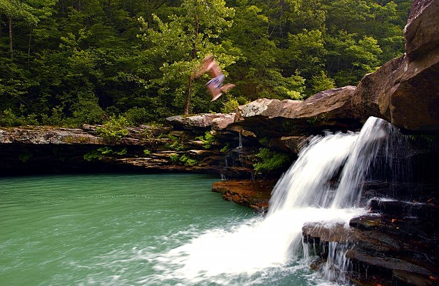 This Waterfall Swimming Hole In Arkansas Is Perfect
