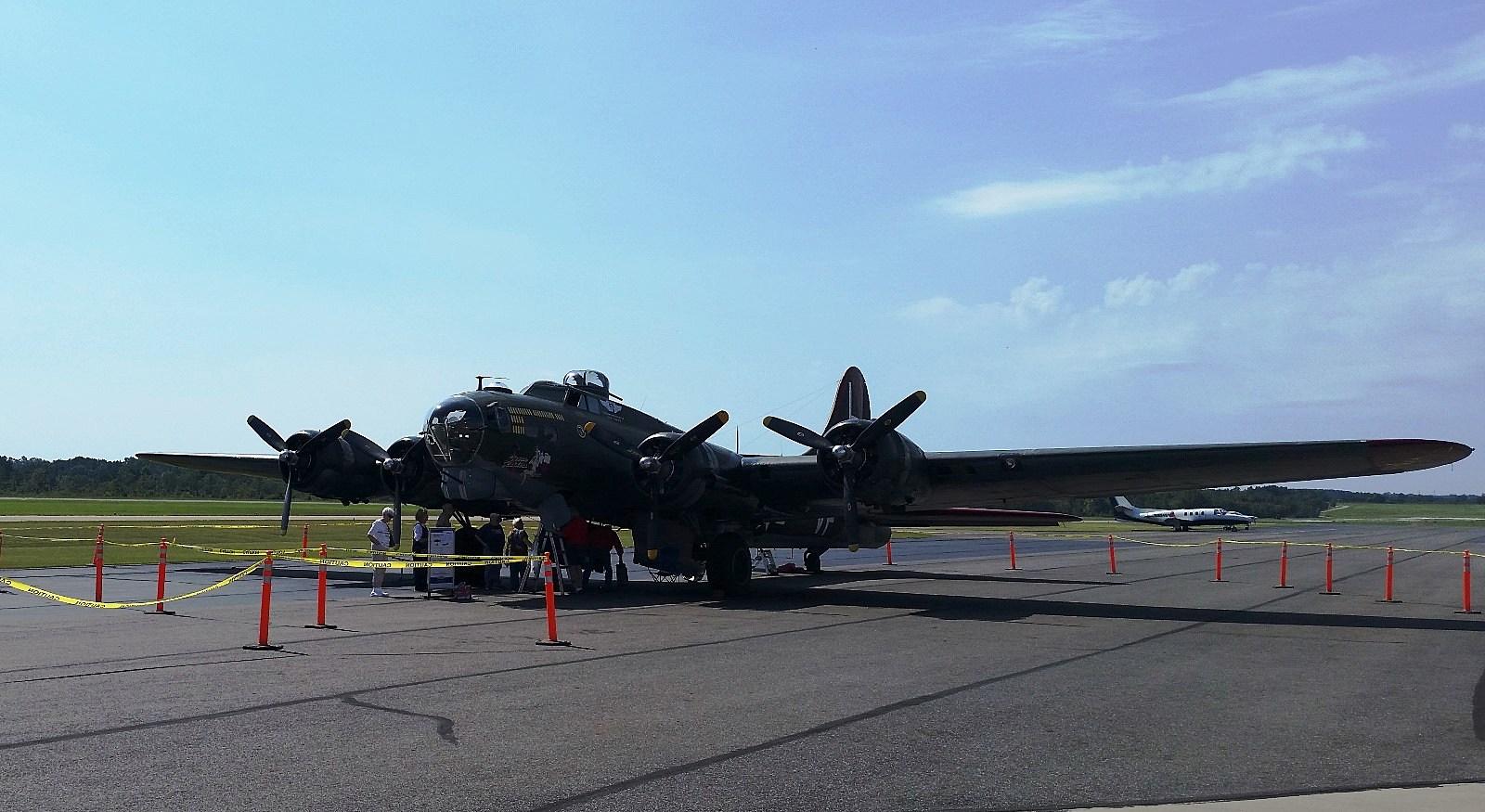 """WWII B-17 """"Texas Raiders"""" - JimWeaver"""