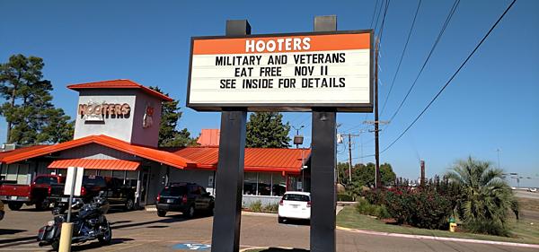 List Of Restaurants Offering Free Food For Veterans