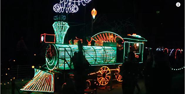 Holiday Lights At Garvan Woodland Gardens In Hot Springs Ark