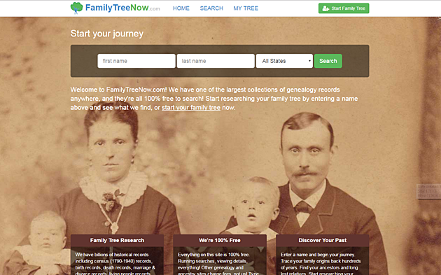 Family Tree Now Site