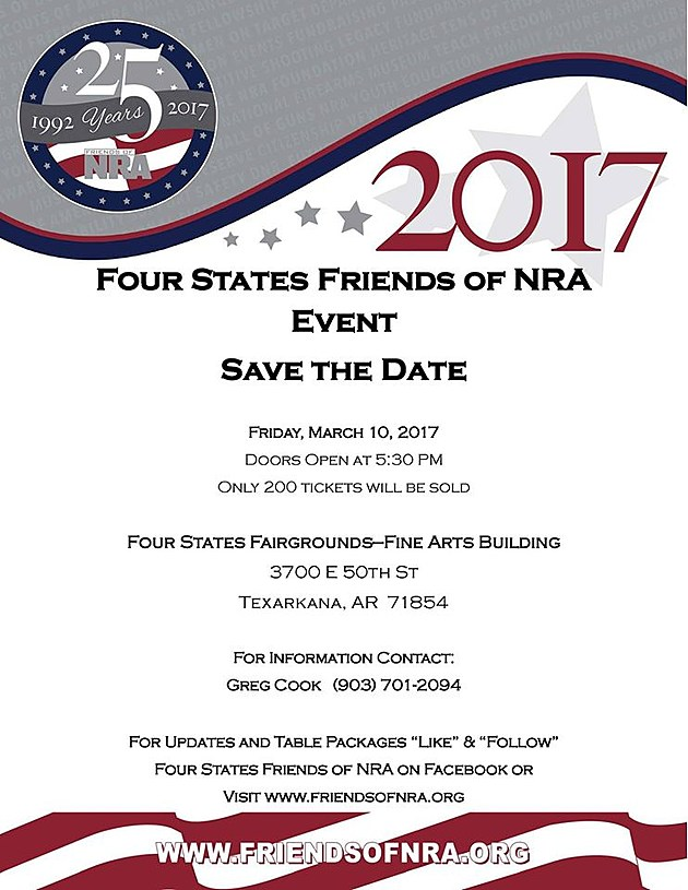 Friends of NRA - General Info