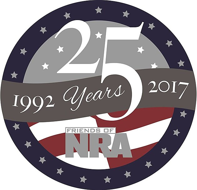 Friends of NRA 25 Year Logo