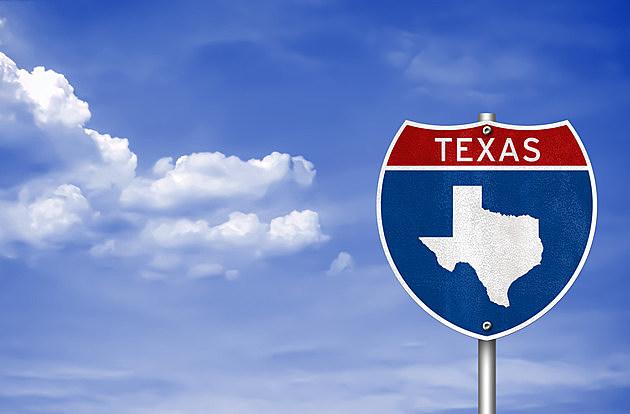 Texas road sign concept
