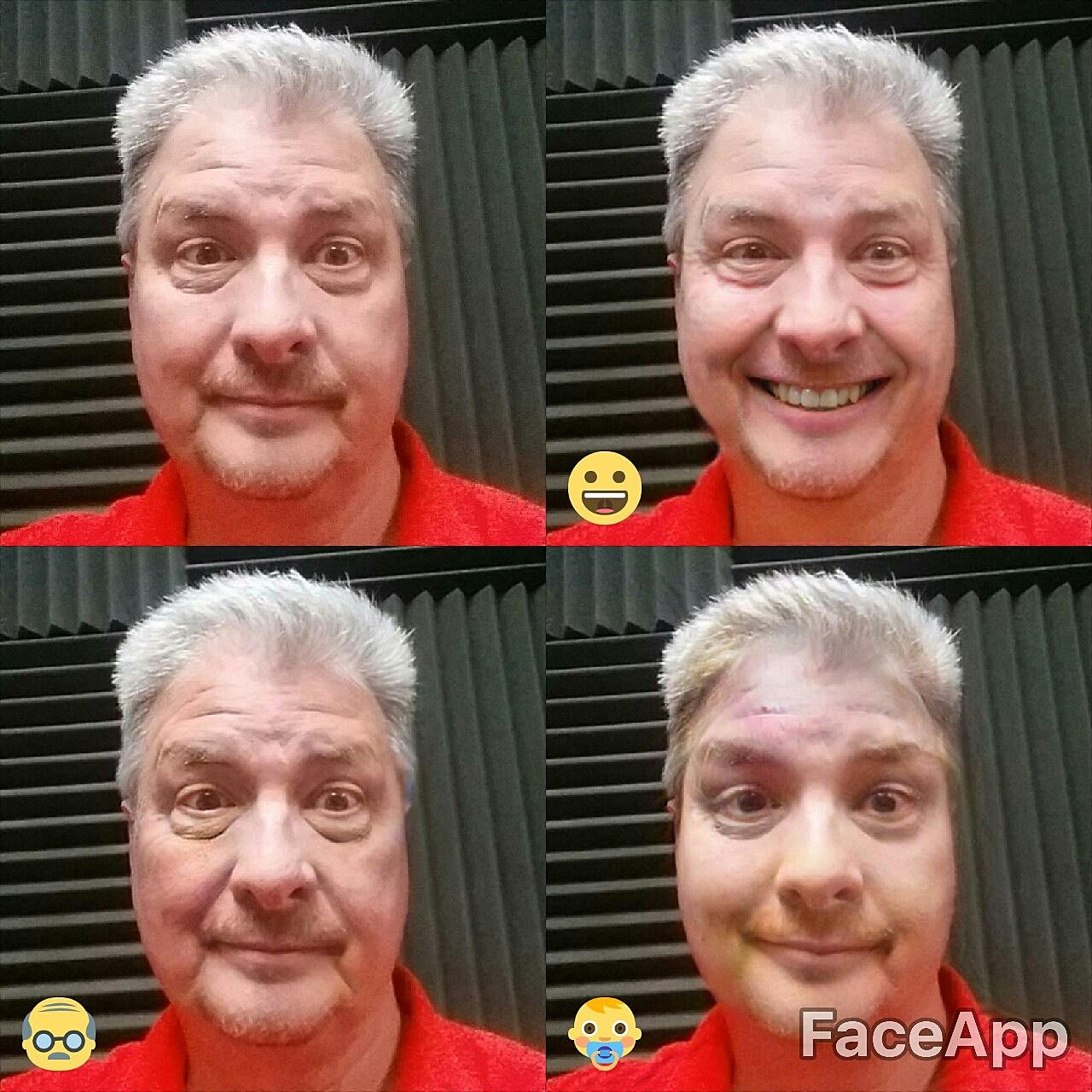 Face App Collage - Jim Weaver