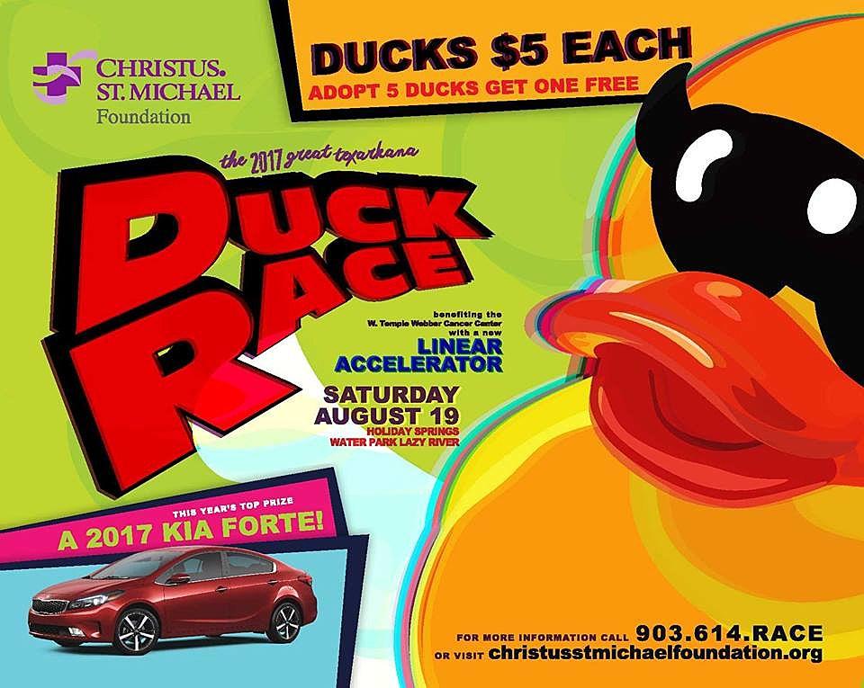 Duck Race 2017 banner