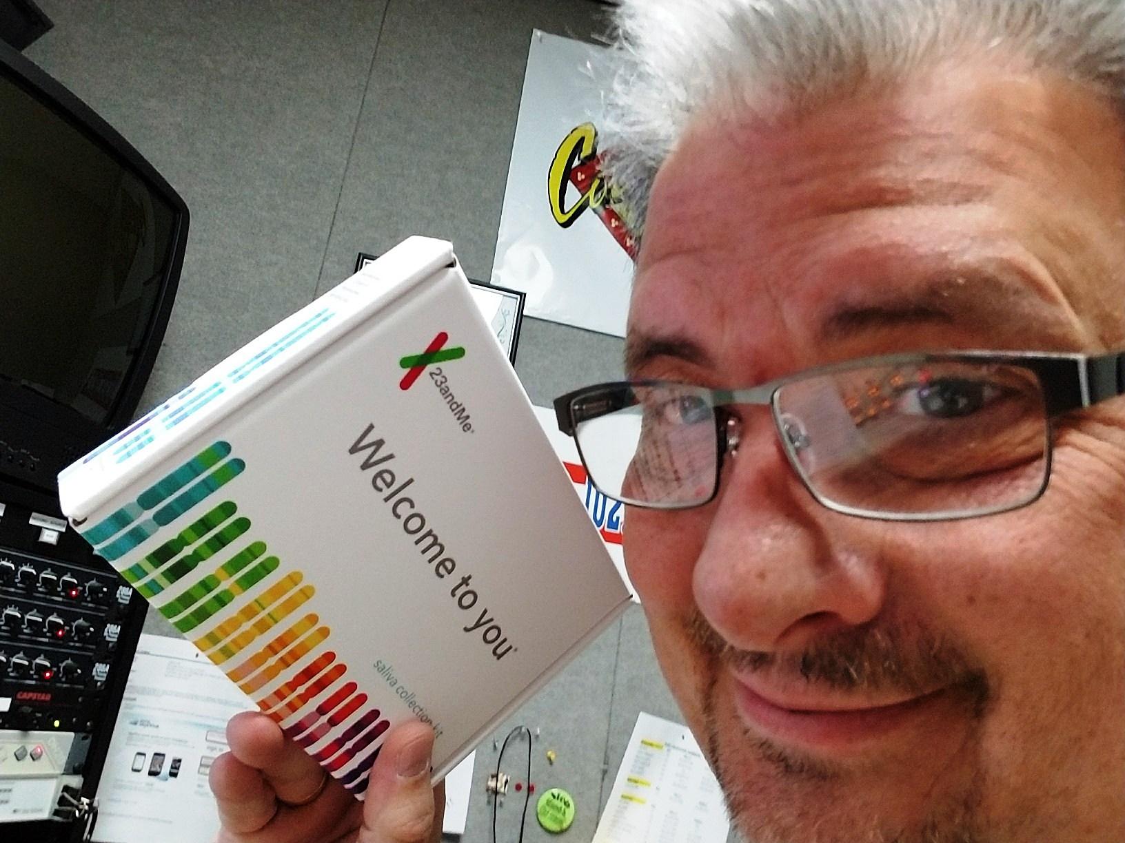 23andMe - me and box