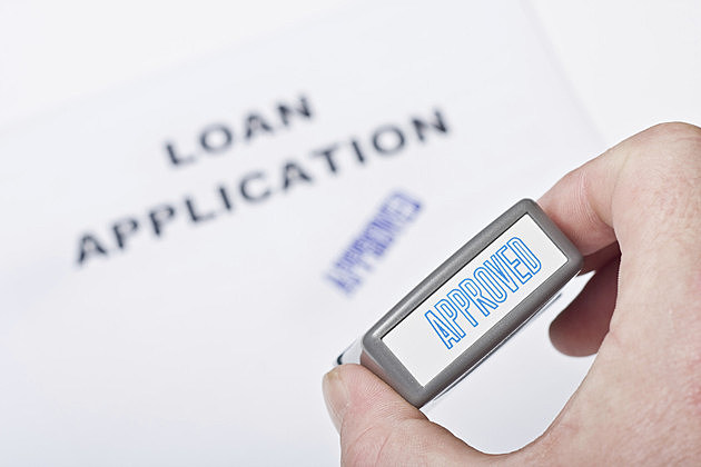 Loan Application Approved Stamp