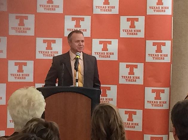 Texas High Coach Gerry Stanford